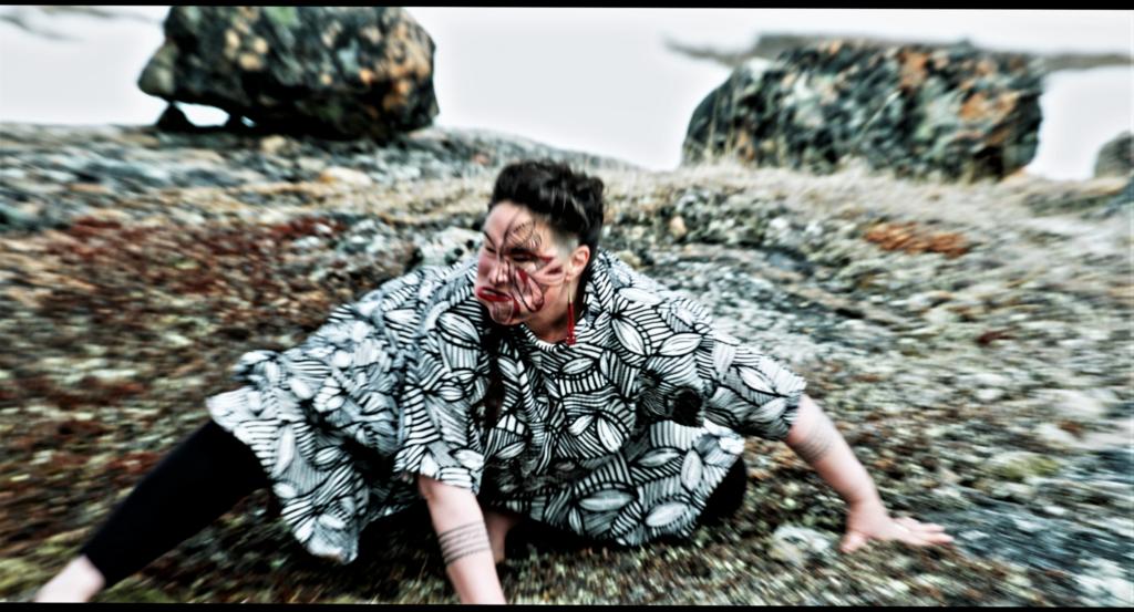 Laakkuluk from the video Aatooq, 2021